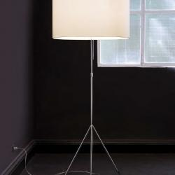 Signora L lámpara of Floor Lamp ø55cm white/white lampshade