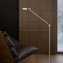 Tema lámpara of Floor Lamp LED 6,5w 3000K metallic lead