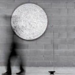 STCHU Moon 08 lámpara of Floor Lamp sólo lámpara