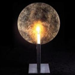 GEMMA Stand of candle of table Gold