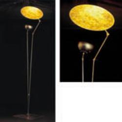 'O SOLE MIO lámpara de Pie 240/260cm Oro