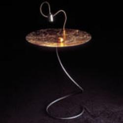 TAOLI' mesa con luz Oro
