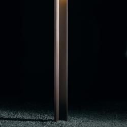 Empty Street lámpara of Floor Lamp Outdoor 250 Pintura Óxido + kit of widerage