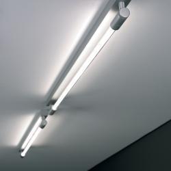 Roof C/W I 130 Aplique/Plafón Aluminio Satinado + Kit de emergencia