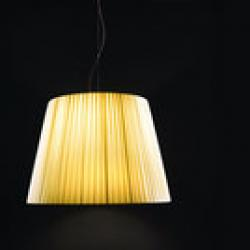 Royal S 28 Pendant Lamp cable Brown E27 1x100w lampshade Beige