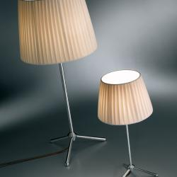 Royal T 36 Table Lamp cable Brown G9 1x60w lampshade Beige
