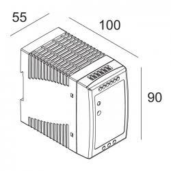 LED POWER SUPPLY 48V-DC / 100W DIN