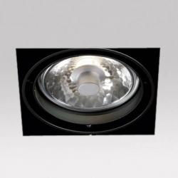 Grid IN Trimless 1 h111 Frames Recessed 1xGX8.5 70w Black