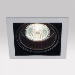 Minigrid in 1 50 hi Frames Empotrables GU10 1x50w Aluminio Aluminio