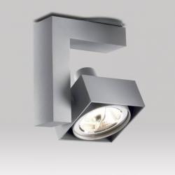 Spatio 70 T50 Foco de Techo 11,7cm QR LP70 50w Aluminio