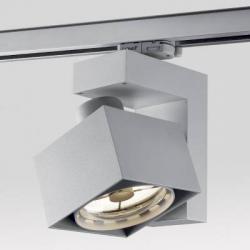 Spatio HIM 150 AD FL28 Foco para Carril trifásico 17,8cm con Reflector 15º G12 HIT 150w Aluminio
