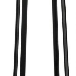 Poulpe P 2949 lámpara de Pie negro