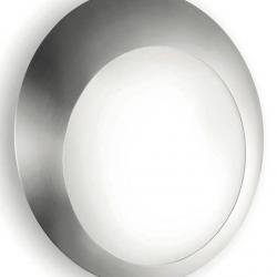 Eclipse to 2423 Wall Lamp white Shiny
