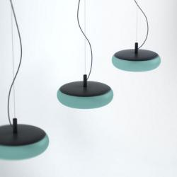 Emma lamp Pendant Lamp metalico turquoise pastel