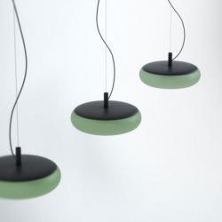 Emma lamp Pendant Lamp metalico Green palido