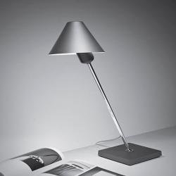 Gira 1978 Lampe de table Argent Anodisé