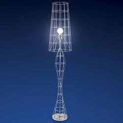 Tweed lámpara de Pie CHROMIUM