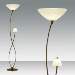 BYRON lámpara of Floor Lamp aged Bronze