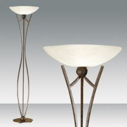 Devon lámpara of Floor Lamp Óxido Oscuro