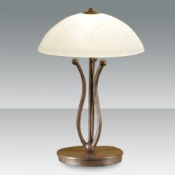 Devon Table Lamp Óxido Oscuro