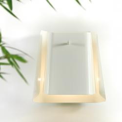 Cocò Wall Lamp E14 1x28W E14 white with conexion to pared