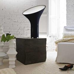 Grace Table Lamp E27 1x100w black with intensity regulator