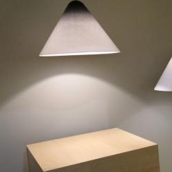 Konica Pendelleuchte - lampenschirm weiß