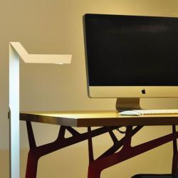 Plié Lampe de table 42cm LED 1x6W 220-240v 700mA blanc
