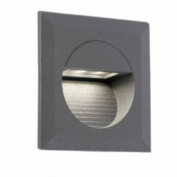 Mini Carter Recessed Grey Dark LED 4000K