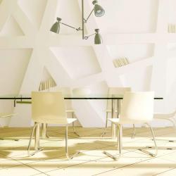 Retro ceiling lamp Green E14 20w