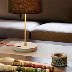 Concrete Table Lamp 1L E27 40w Black