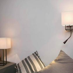 Vesper Wall Lamp Brown with Lector LED E14 20w