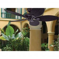 outdoor Elements Hunter Fan Ceiling Brown 5 blades ø132cm