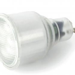 Bombilla Fluorescentbajo consumo GU10 11w 5000ºK