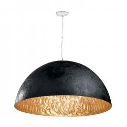 Magma Pendant Lamp Small 3L E27 60w Black + Golden ø70cm