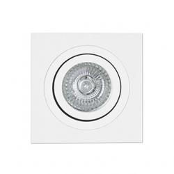Radon Recessed adjustable Square white gu10