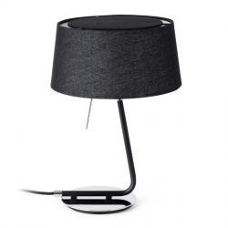 hotel Table Lamp 1L E27 60w - Black