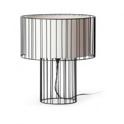 Linda Table Lamp 1L E27 - Black