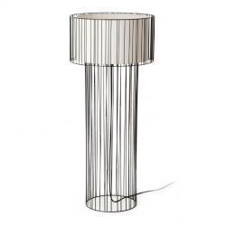 Linda Floor Lamp 1L E27 - Black