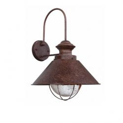 Náutica P Wall Lamp Outdoor 1L 12w - Brown Oxide