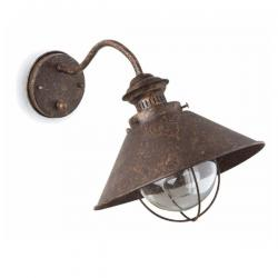Náutica Wall Lamp Outdoor 1L 12w - Brown Oxide