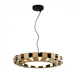 Pauline Pendant Lamp LED 24W Wood 2700K dimable