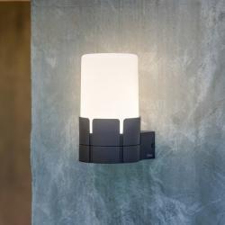 Tram Wall Lamp Grey Dark 1XE27 20W