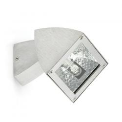 Primo proyector Exterior Aluminio pulido 1L 100w
