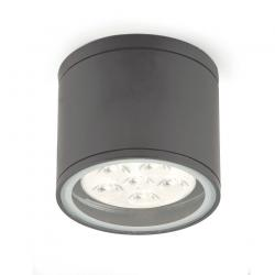 Gargal 3 plafonnier Extérieure Gris Sombre LED 1w
