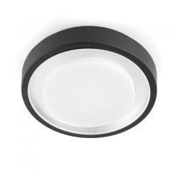 Gobbi plafonnier Extérieure Noir 2L 11w