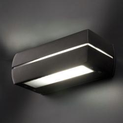 Dragma Wandleuchte Grau Dunkel 1L 18w