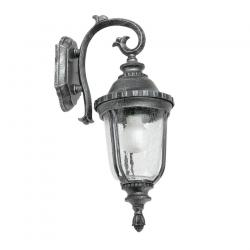 Toledo Wall Lamp Outdoor Silver aged 1L 20w