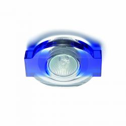 Batian Lamp Recessed Transparent/Blue
