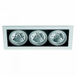 Helio 3 Lamp Recessed Grey 3L